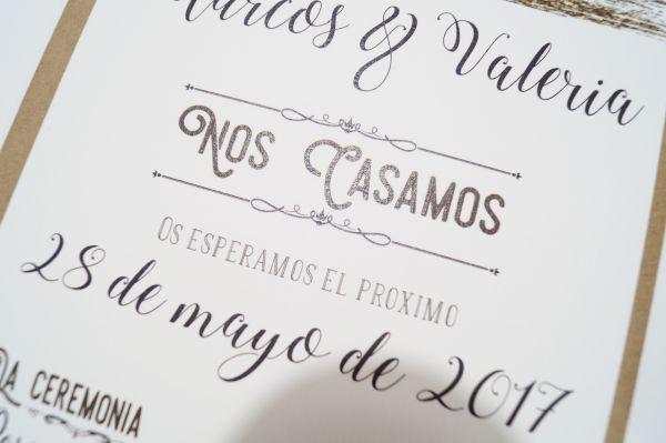 invitacin de boda ucla vintageud