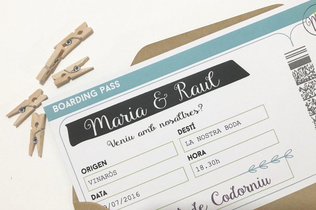 invitacion de boda boarding pass original invitacion de boda boarding pass detalle